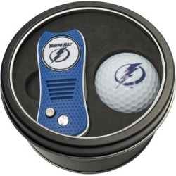 Tampa Bay Lightning Divot Tool & Golf Ball Personalized Tin Gift Set found on Bargain Bro India from Fanatics for $29.99