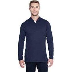Under Armour 1316277 Athletic Men's Spectra Quarter-Zip Pullover Top in Acdm/Crs Bl size XL | polyester/elastane found on Bargain Bro from ShirtSpace for USD $35.38