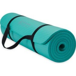 Gaiam Yoga Mats - Teal Essentials Fitness Mat found on Bargain Bro Philippines from zulily.com for $13.99