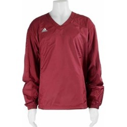 adidas Climalite Windbreaker Mens Athletic Jacket Lightweight - Red (M), Men's found on Bargain Bro India from Overstock for $24.95