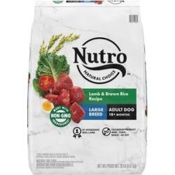 Nutro Natural Choice Lamb & Brown Rice Recipe Large Breed Dry Dog Food, 20-lb bag