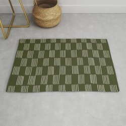 Hatches - small Doug Fir Modern Throw Rug by Urban Wild Studio Supply - 2' x 3' found on Bargain Bro from Society6 for USD $27.93