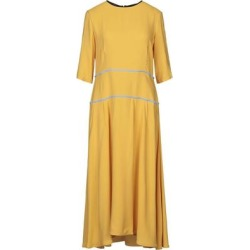 3/4 Length Dress - Yellow - Marni Dresses found on MODAPINS from lyst.com for USD $630.00
