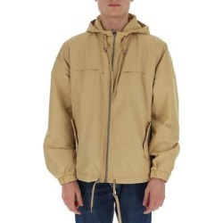 Back Logo Windbreaker - Natural - Moschino Jackets found on Bargain Bro from lyst.com for USD $465.88