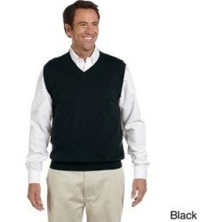 Men's Lightweight Cotton V-neck Vest (XS,Black) found on MODAPINS from Overstock for USD $27.54