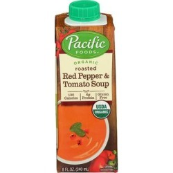 Pacific Foods Canned Soup - Roasted Red Pepper & Tomato Soup found on Bargain Bro India from zulily.com for $3.89