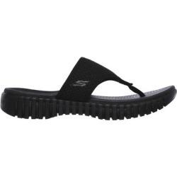 Skechers GOwalk Smart - Riviera Sandals, Black/Black, 7.0 found on Bargain Bro Philippines from SKECHERS.com for $50.00