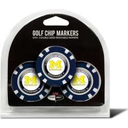 Michigan Wolverines Golf Chip 3-Pack Set found on Bargain Bro India from Fanatics for $14.99