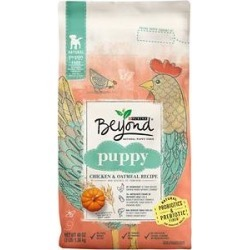 Purina Beyond Chicken & Oatmeal Recipe High Protein Dry Puppy Food, 3-lb bag