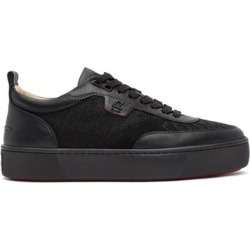 Black Happyrui Flat Sneakers - Black - Christian Louboutin Sneakers found on Bargain Bro from lyst.com for USD $604.20