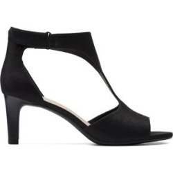 Clarks Women's Sandals Black/Metallic - Black Alice Flame Leather Sandal - Women found on Bargain Bro from zulily.com for USD $25.07