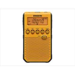 Sangean Camp & Hike AM/FM Weather Alert-Rechargeable Pocket Radio Yellow Small Model: DT-800YL found on Bargain Bro from campsaver.com for USD $65.20