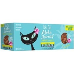 Tiki Cat Aloha Friends Fish & Pumpkin Variety Pack Grain-Free Wet Cat Food, 5.5-oz, case of 8 found on Bargain Bro India from Chewy.com for $13.52
