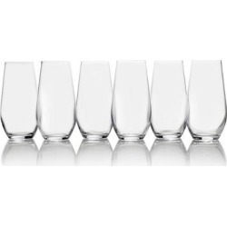Mikasa Gianna 6 pc. Highball Glass Set, Multicolor found on Bargain Bro Philippines from Kohl's for $47.99