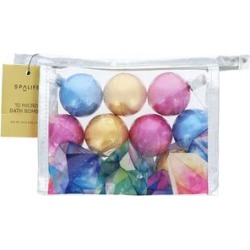 SpaLife Bubble Bath & Oil Blue, - Pink & Blue Micro Bath Bomb Set found on Bargain Bro India from zulily.com for $8.99
