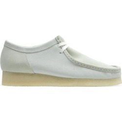Clarks Wallabee Moc Toe Derby - White - Clarks Slip-Ons found on Bargain Bro from lyst.com for USD $152.00