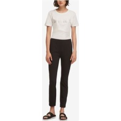 DKNY Womens Black Skinny Pants Size M (Black - M), Women's(knit, Solid) found on Bargain Bro from Overstock for USD $18.98
