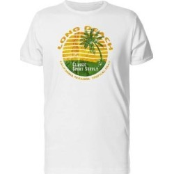 Long Beach Classic Sport Tee Men's -Image by Shutterstock (S), White found on Bargain Bro from Overstock for USD $10.63