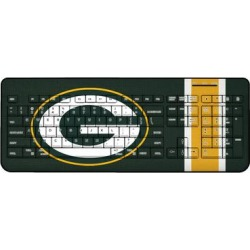 Green Bay Packers Stripe Wireless Keyboard found on Bargain Bro from nflshop.com for USD $45.59