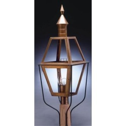 Northeast Lantern Boston 38 Inch Tall 1 Light Outdoor Post Lamp - 1033-AB-CIM-SMG found on Bargain Bro from Capitol Lighting for USD $1,066.23