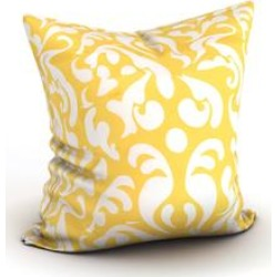 Porch & Den Bogard Bright Damask Throw Pillow found on Bargain Bro from Overstock for USD $37.99