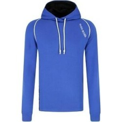 Hugo Boss Men's Long Sleeve Logo Stripe Detail Hoodie (Blue - XL) found on MODAPINS from Overstock for USD $99.64