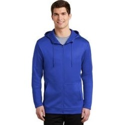 Nike Therma-Fit Full Zip Fleece Hoodie (Royal - XS), Men's, Blue found on Bargain Bro from Overstock for USD $61.93