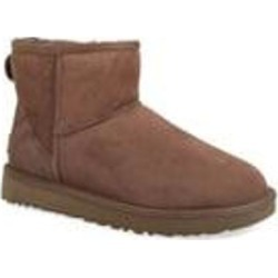 UGG Classic Mini Ii Genuine Shearling Lined Boot - Brown - Ugg Boots found on Bargain Bro from lyst.com for USD $114.00