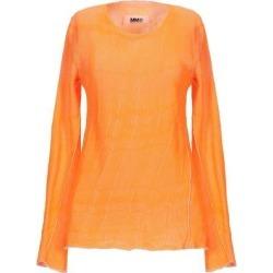 Sweater - Orange - MM6 by Maison Martin Margiela Knitwear found on Bargain Bro from lyst.com for USD $174.80