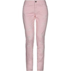 Denim Trousers - Pink - Giamba Pants found on MODAPINS from lyst.com for USD $87.00