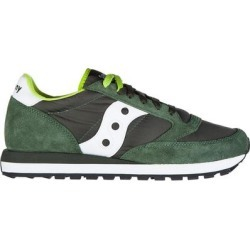 Women's Shoes Suede Trainers Sneakers Jazz O - Green - Saucony Sneakers found on Bargain Bro from lyst.com for USD $64.60