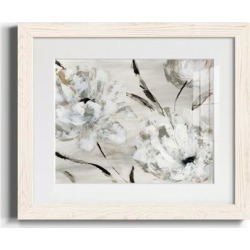 Misty Morning Blooms-Premium Framed Print - Ready to Hang found on Bargain Bro Philippines from Overstock for $77.77