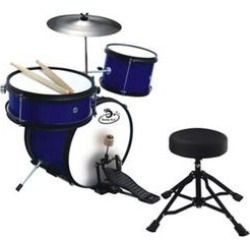 Ready Ace Bright Blue 5 Piece Junior Children's Professional Drum Set found on Bargain Bro Philippines from belk for $99.90