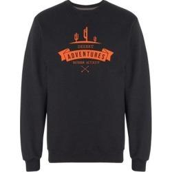 Desert Zone Sweatshirt Men's -Image by Shutterstock (White - M)(cotton) found on Bargain Bro Philippines from Overstock for $24.99