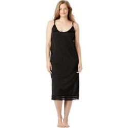 Plus Size Women's Snip-To-Fit Dress Liner by Comfort Choice in Black (Size 4X) found on Bargain Bro Philippines from Ellos for $19.99