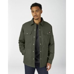 Dickies Men's Flex Duck Shirt Jacket With Hydroshield - Olive Green Size L (TJ212) found on Bargain Bro India from Dickies.com for $59.99