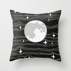 Couch Throw Pillow | Moon Magic by Urban Wild Studio Supply - Cover (16