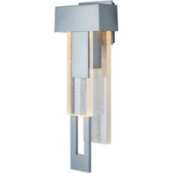Hubbardton Forge Rainfall 18 Inch Tall LED Outdoor Wall Light - 302531-1013 found on Bargain Bro from Capitol Lighting for USD $1,120.24