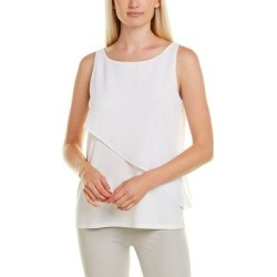 Hugo Boss Esavi Tank (XS), Women's, White(cotton) found on MODAPINS from Overstock for USD $52.49