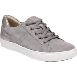 Women's Morrison Sneakers by Naturalizer in Grey Silver (Size 9 M) found on Bargain Bro India from Roamans.com for $89.99