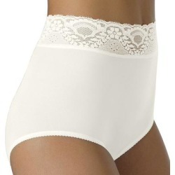 Bali Lacy Skamp Brief 2744 - Women's, White found on Bargain Bro from Kohl's for USD $8.36