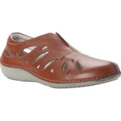 Women's Cami Leather Slip-on by Propet in Tan (Size 9 1/2XX(4E)) found on Bargain Bro Philippines from Woman Within for $89.99