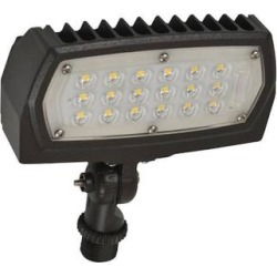 Halco 99875 - FL1/CL12BZ50/KN/LED Outdoor Flood LED Fixture found on Bargain Bro Philippines from eLightBulbs for $54.69