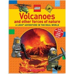 Scholastic Non-Fiction Books - Volcanoes: A LEGO Adventure in the Real World Paperback found on Bargain Bro India from zulily.com for $8.79