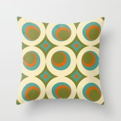 Couch Throw Pillow | Mid-century Modern Funk 2 by Monstersmash - Cover (16