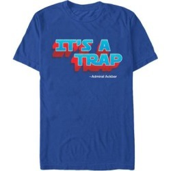 Fifth Sun Men's Tee Shirts ROYAL - Star Wars Royal Blue 'It's a Trap' Tee - Men found on Bargain Bro Philippines from zulily.com for $15.99
