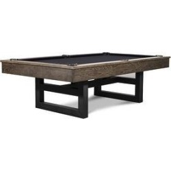 Mckay Slate Pool Table w/Premium Accessories (Black - 8 ft. - Drop - Slate - Assembly Required - Tapered - Wool) found on Bargain Bro Philippines from Overstock for $3999.00