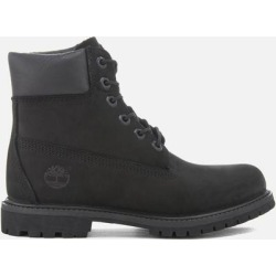6 Inch Nubuck Premium Boots - Black - Timberland Boots found on Bargain Bro from lyst.com for USD $186.20