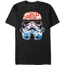 Fifth Sun Men's Tee Shirts BLACK - Black Floral Stormtrooper Crewneck Tee - Men found on Bargain Bro Philippines from zulily.com for $15.99