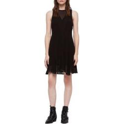 Eleanor Stud Trim Dress - Black - AllSaints Dresses found on Bargain Bro Philippines from lyst.com for $86.00